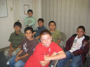 3rd & 4th Grade Boy's Sunday SChool Class