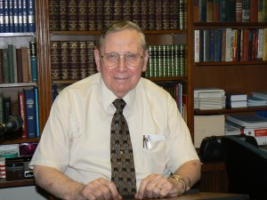 Dr. Carl Hodges, our Teacher, over 50 yrs of Bible Teaching Experience